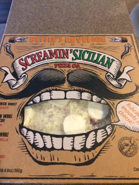 Screamin' Scilian Pizza